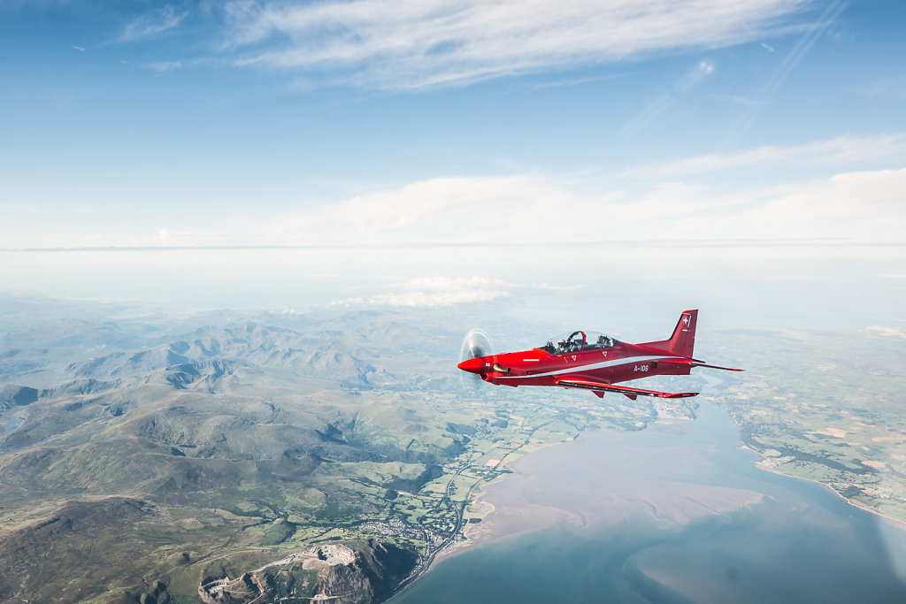 Überflug von Vally nach Emmen im Rahmen der Spartenausbildung PK09